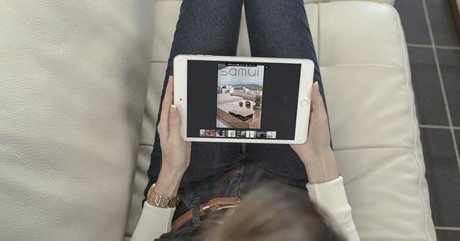 Riviste online PDF sul tablet